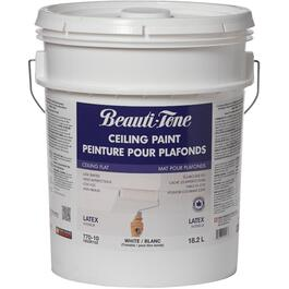 18.2L White Interior Flat Latex Ceiling Paint thumb