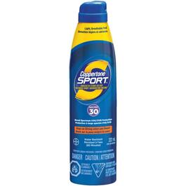 222mL Coppertone Sport SPF30 Sunblock Spray thumb