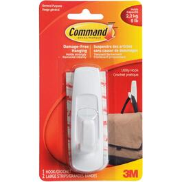 Command Large Utility Adhesive Hook thumb