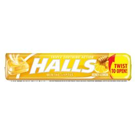9 Piece Honey/Lemon Halls Cough Drops thumb