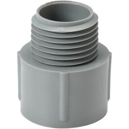"1/2"" PVC Conduit Terminal Adapter thumb"