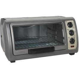 6 Slice Grey Toaster Oven thumb