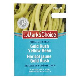 Slenderwax Yellow Bush Bean Seeds thumb