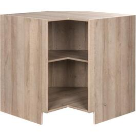 "33"" Organic Knockdown Corner Base Cabinet thumb"