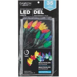 35 LED Multi Colour C6 Battery Operated Light Set thumb
