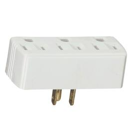3 Outlet Ivory Wall Tap thumb