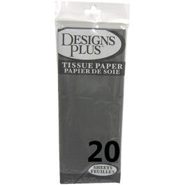 "20 Pack 20"" x 20"" Black Tissue Paper thumb"