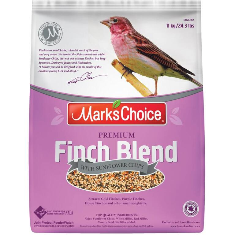 MARK'S CHOICE 11kg Finch Blend Bird Seed - Home Hardware Canada