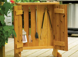 Barbecue Tool Cabinet