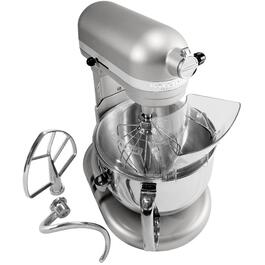 575 Watt 10 Speed Nickel Pearl Pro Stand Mixer, with 6 Quart Bowl thumb