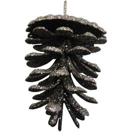 "3"" Plastic Brown Pinecone Ornament thumb"