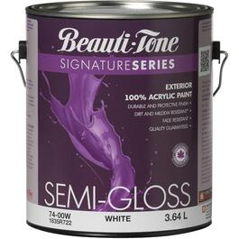 3.64L White Base Semi-Gloss Exterior Latex Paint thumb