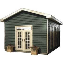 16' x 20' Backyard Office Package, with Vinyl Siding thumb