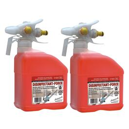 2 Pack 3 L Disinfectant-Force Disinfecting and Deodorizing Foam Cleaner thumb