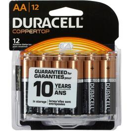 12 Pack Alkaline AA Batteries thumb