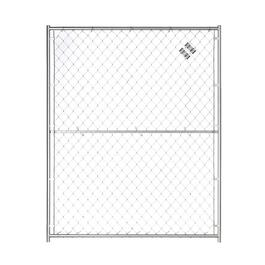5' x 6' Panel Expansion Panel, for Modular Chain Link Pet Kennel thumb