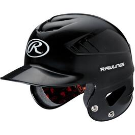 Black Youth Coolflo Batting Helmet thumb
