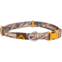 "18-28"" x 1"" Large Brown Camouflage Polyester Web Classic Dog Collar thumb"