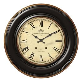 "18"" Round Classic Vintage Wall Clock thumb"