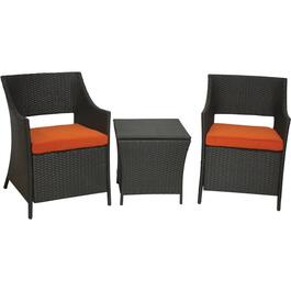 3 Piece Sicily Chat Set, with Cushion thumb