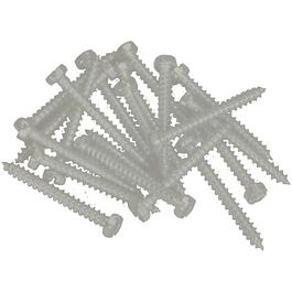 "100 Pack 6"" x 5/8"" Matchcoat Beige Pan Head Screws, for Aluminum Soffit and Fascia thumb"