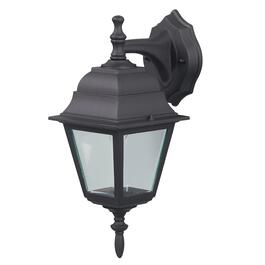 "14.75"" Outdoor Down or Upward Black Light Fixture with Clear Glass thumb"