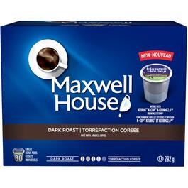 30 Pack Single Serve Maxwell House Blend Dark Roast Coffee Cups thumb