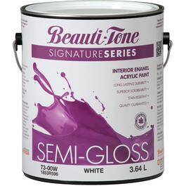 3.64L White Base Semi Gloss Interior Latex Paint thumb