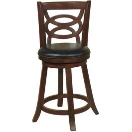 "24"" Espresso Adelaide Swivel Stool thumb"