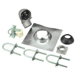 7 Piece 200 Amp Service Entrance Mast Kit thumb