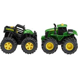 2 Pack John Deere Monster Treads Tractor thumb