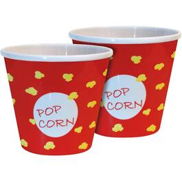 2 Pack Small Melamine Popcorn Bowl Set thumb
