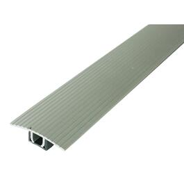 3' Satin Silver Laminate Floor T-Moulding thumb