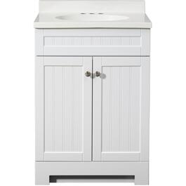 "24"" x 18"" 2 Door White Edgewater Vanity thumb"