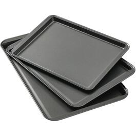 3 Piece Non Stick Cookie Sheet Set thumb