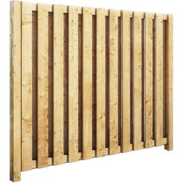 5' Pressure Treated Vertical Board On Board Privacy Fence Package thumb