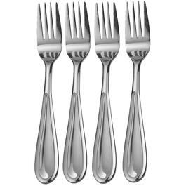 4 Piece Stainless Steel Fork Set thumb