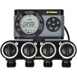 4 Zone Hydrologic Digital Water Timer thumb
