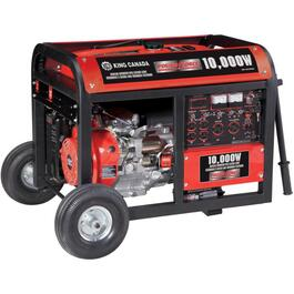 10,000W 15HP Portable Gas Generator, with Electric Start thumb