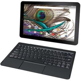 "10"" 32 GB Wi-Fi Quad Core Google Certified Touchscreen Tablet, with Clip-on Keyboard thumb"