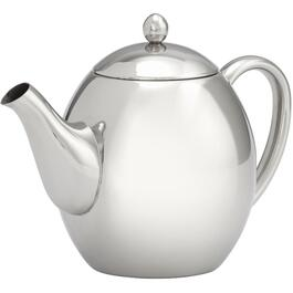 1.2L Stainless Steel Double Wall Teapot thumb
