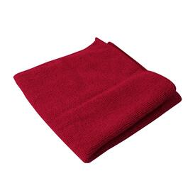 "10 Pack 14"" x 14"" Red Microfibre Cloths thumb"