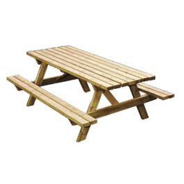 6' Cedar Picnic Table Package thumb