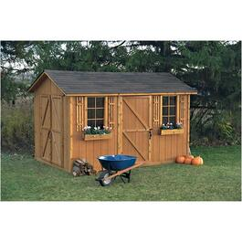 8' x 12' Huron Double Door Storage Shed thumb