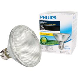 39W PAR30  Medium Base Halogen Dimmable Short Neck Flood Light Bulb thumb