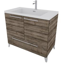 "36"" x 19"" Malea Cassis 2 Door/1 Drawer Vanity thumb"