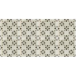 "15.76 sq. ft. 12"" x 24"" Cotto Tuscana Bloom Deco Porcelain Tile Flooring thumb"