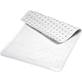"14"" x 22-1/2"" White Tub Mat thumb"
