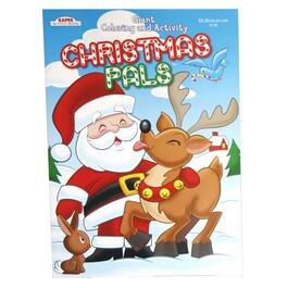 96 Page Christmas Colouring Book, Assorted Books thumb