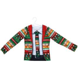 Boys Ugly Suit Christmas T-Shirt, Assorted Sizes thumb